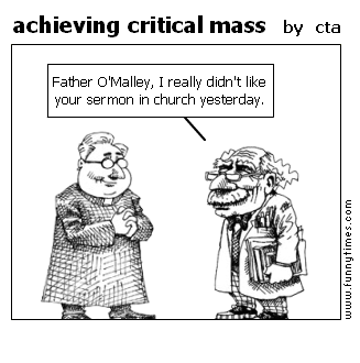 achieving critical mass by cta