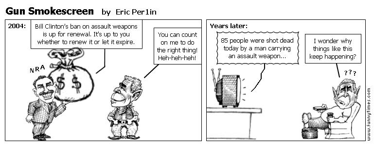 Gun Smokescreen by Eric Per1in