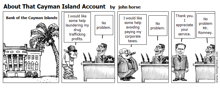 About That Cayman Island Account by john horse