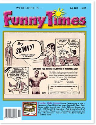 Funny Times July 2012 Issue Cover