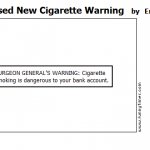 Proposed New Cigarette Warning