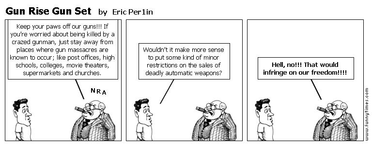 Gun Rise Gun Set by Eric Per1in