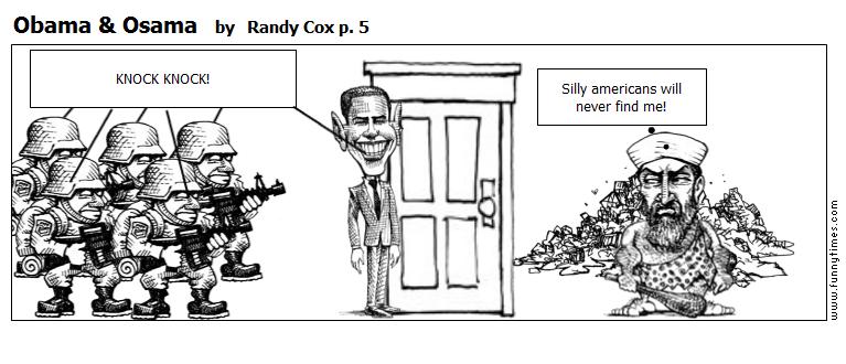 Obama  Osama by Randy Cox p. 5