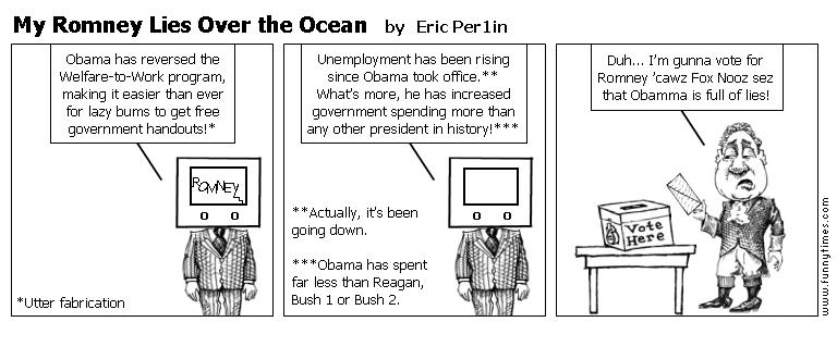 My Romney Lies Over the Ocean by Eric Per1in