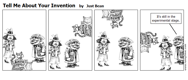 Tell Me About Your Invention by Just Bean