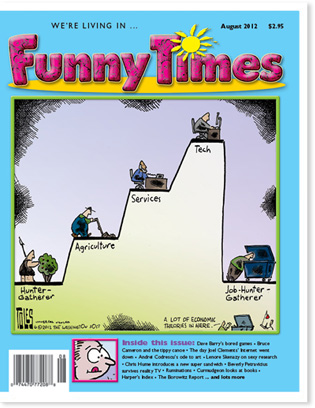 Funny Times August 2012 Issue Cover