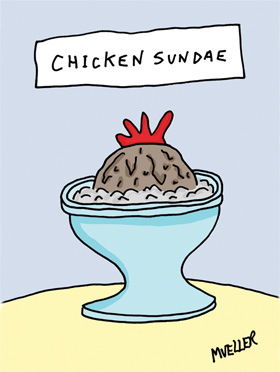 Mueller - Chicken Sundae