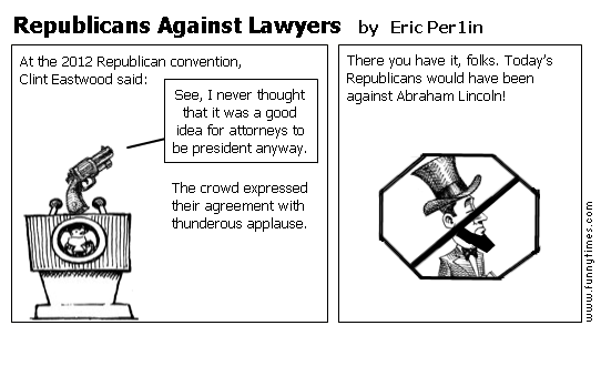 Republicans Against Lawyers by Eric Per1in