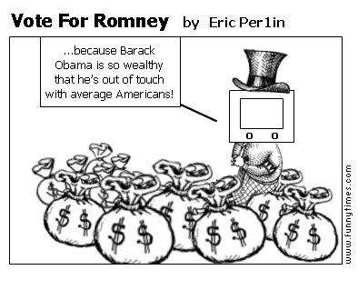 Vote For Romney by Eric Per1in