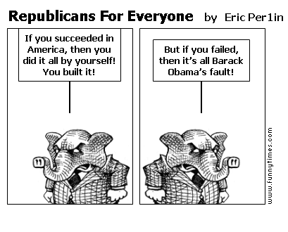 Republicans For Everyone by Eric Per1in
