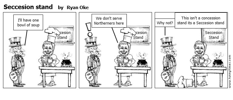 Seccesion stand by Ryan Oke