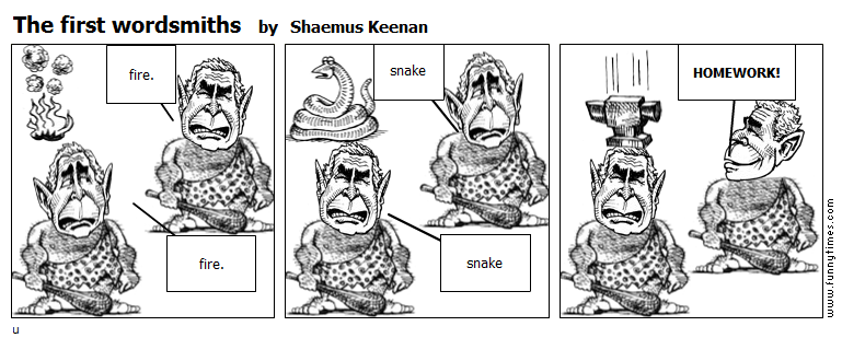 The first wordsmiths by Shaemus Keenan