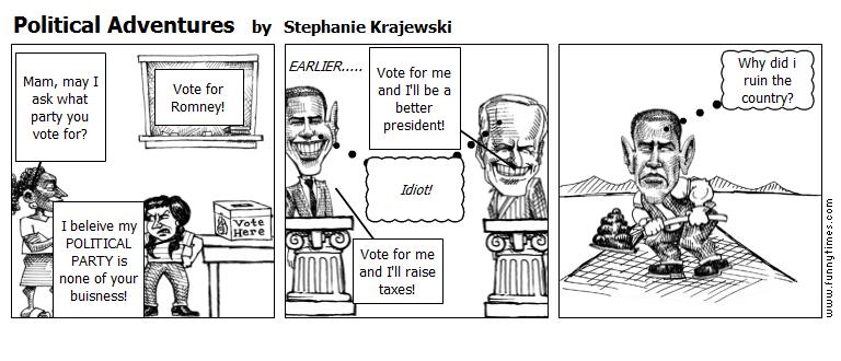Political Adventures by Stephanie Krajewski
