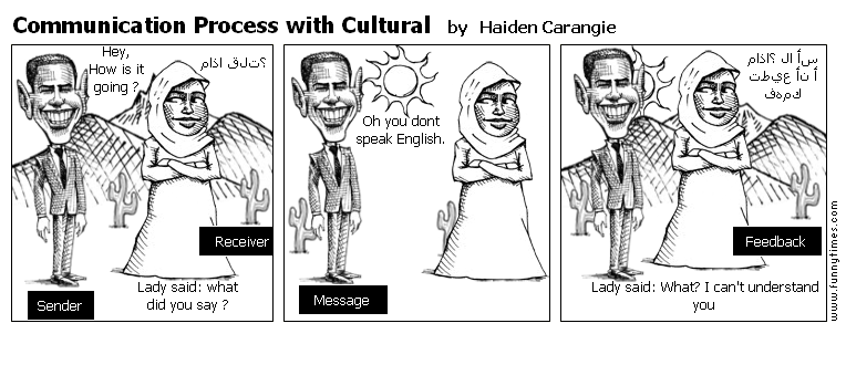 Communication Process with Cultural by Haiden Carangie