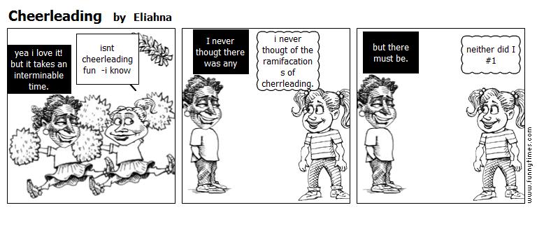 Cheerleading by Eliahna