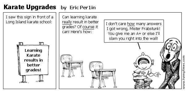 Karate Upgrades by Eric Per1in