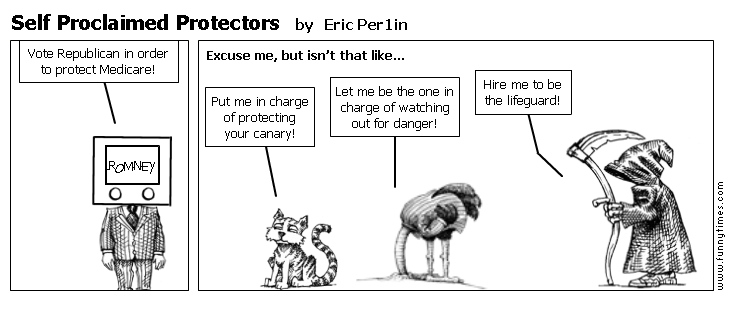 Self Proclaimed Protectors by Eric Per1in