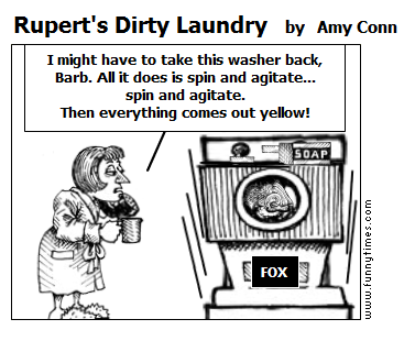 Rupert's Dirty Laundry by Amy Conn