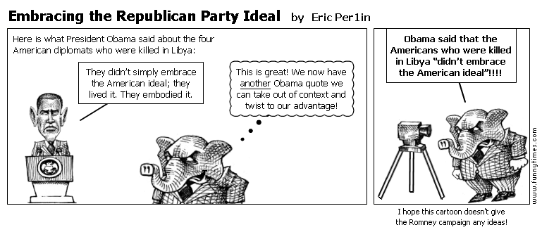 Embracing the Republican Party Ideal by Eric Per1in