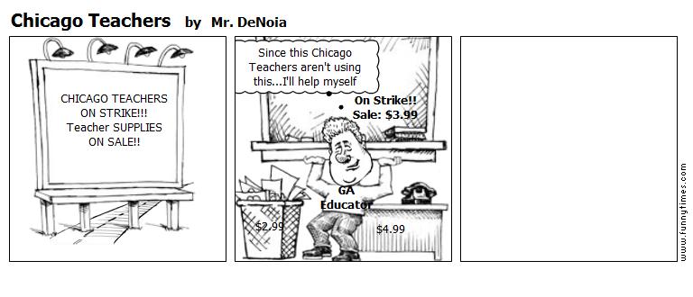 Chicago Teachers by Mr. DeNoia