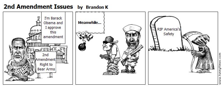 2nd Amendment Issues by Brandon K