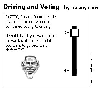 Driving and Voting by Anonymous