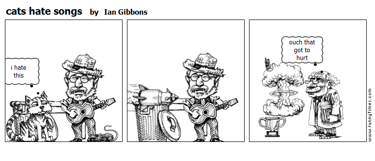 cats hate songs by Ian Gibbons