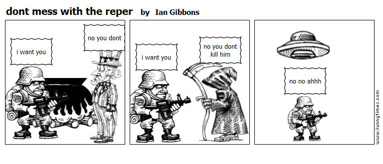 dont mess with the reper by Ian Gibbons