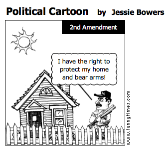 Political Cartoon by Jessie Bowers