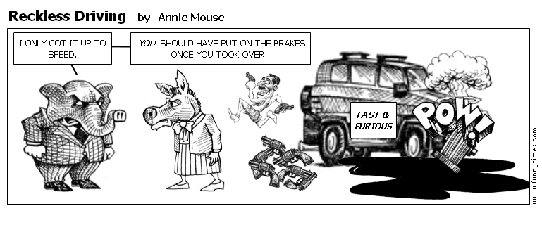 Reckless Driving by Annie Mouse