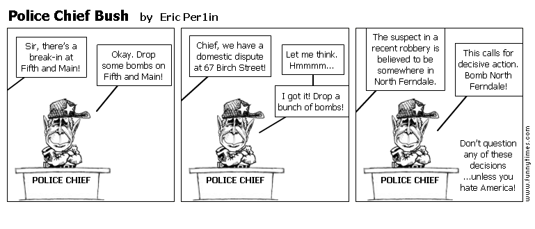 Police Chief Bush by Eric Per1in