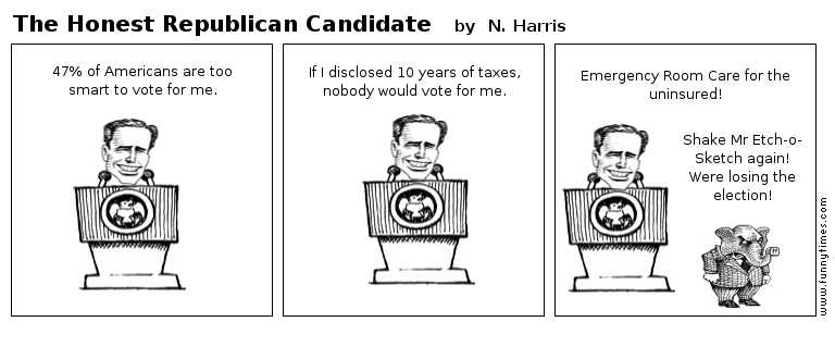 The Honest Republican Candidate by N. Harris