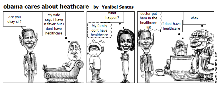 obama cares about heathcare by Yanibel Santos