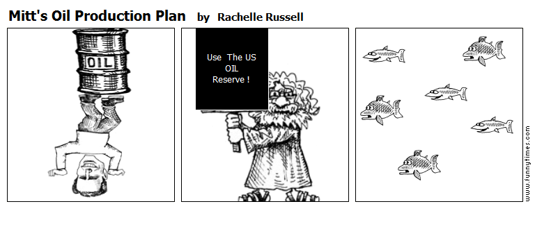 Mitt's Oil Production Plan – The Funny Times