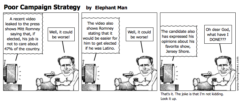 Poor Campaign Strategy by Elephant Man