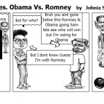 2012 Vote Period Pres. Obama Vs. Romney