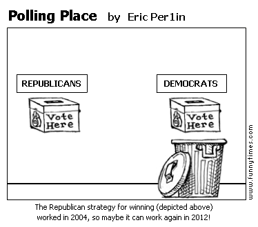 Polling Place by Eric Per1in