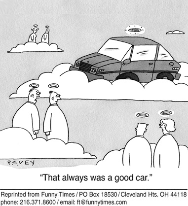 Funny food death car  cartoon, September 19, 2012