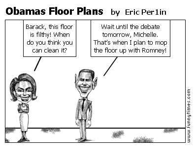 Obamas Floor Plans by Eric Per1in