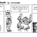 uncle sam and superbush