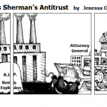 Trustbuster enforces Sherman's Antitrus