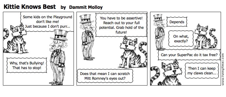 Kittie Knows Best by Dammit Molloy