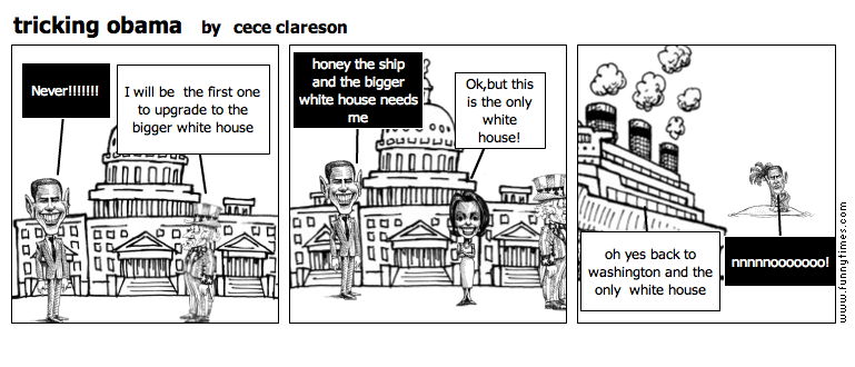 tricking obama by cece clareson
