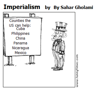 Imperialism by By Sahar Gholami