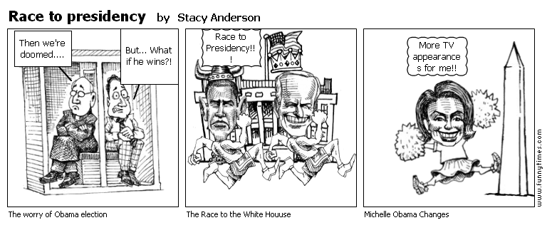 Race to presidency by Stacy Anderson