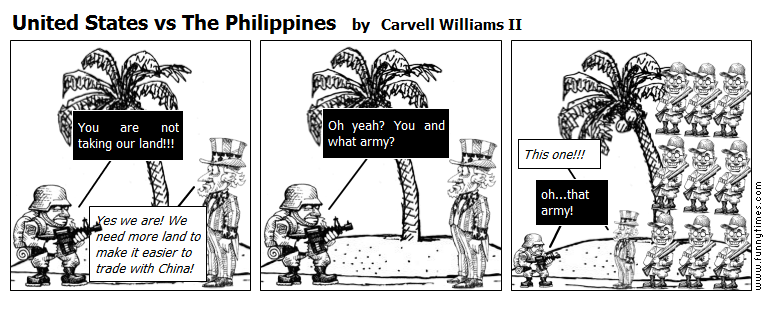 United States vs The Philippines by Carvell Williams II