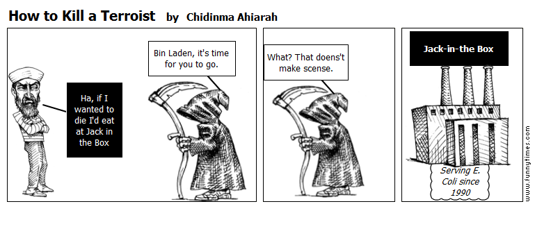 How to Kill a Terroist by Chidinma Ahiarah