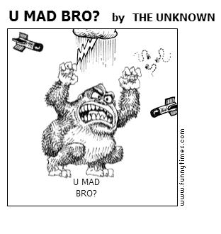 U MAD BRO by THE UNKNOWN