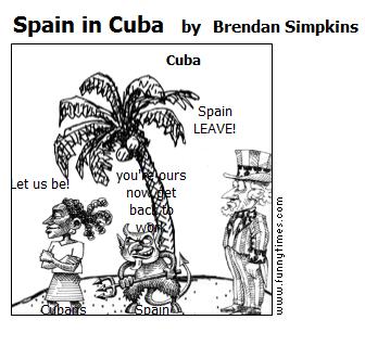 Spain in Cuba by Brendan Simpkins