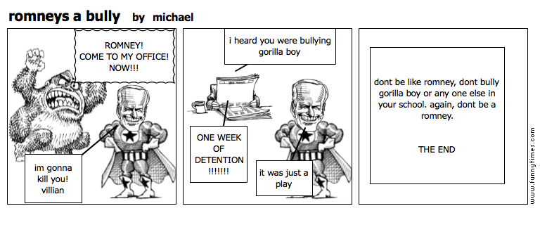 romneys a bully by michael